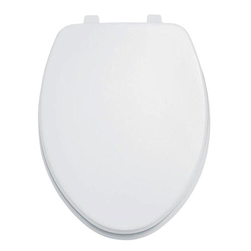 American Standard Laurel Elongated Closed Front Toilet Seat in White 944785