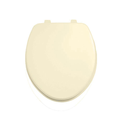 American Standard Laurel Round Closed Front Toilet Seat in Bone 944857