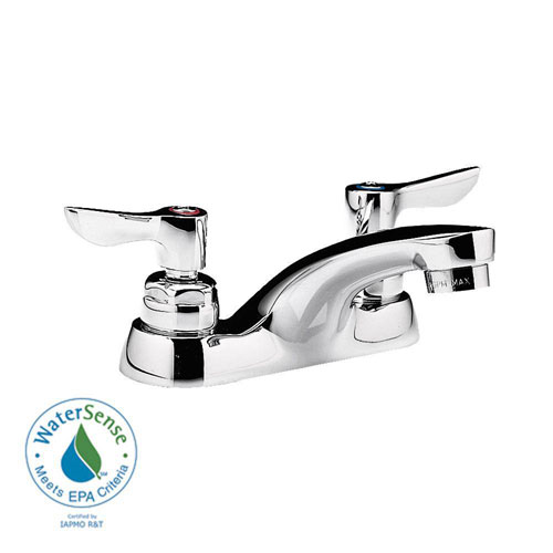 American Standard Monterrey 4 inch Centerset 2-Handle Bathroom Faucet in Polished Chrome 979939