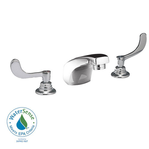 American Standard 6500.170.002 Monterrey 8-inch Widespread Lavatory Faucet Less Drain, Polished Chrome 979966
