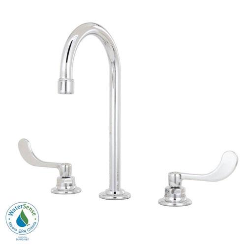 American Standard 6530.170.002 Monterrey Widespread Gooseneck Lavatory Faucet, Chrome 980029