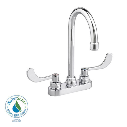 American Standard Monterrey 4 inch Centerset 2-Handle High-Arc Bathroom Faucet in Chrome 980137