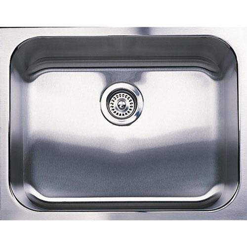 Blanco Spex Undermount Stainless Steel 23 inch 0-Hole Single Bowl Kitchen Sink 296169