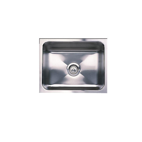 Blanco Magnum Undermount Stainless Steel 18x12x21 0-Hole Single Bowl Kitchen Sink 307377