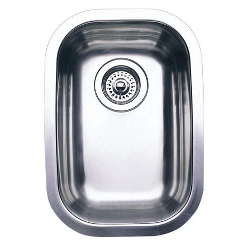 Blanco Wave Plus Undermount Stainless Steel 12.44 inch 0-Hole Single Bowl Kitchen Sink 439549