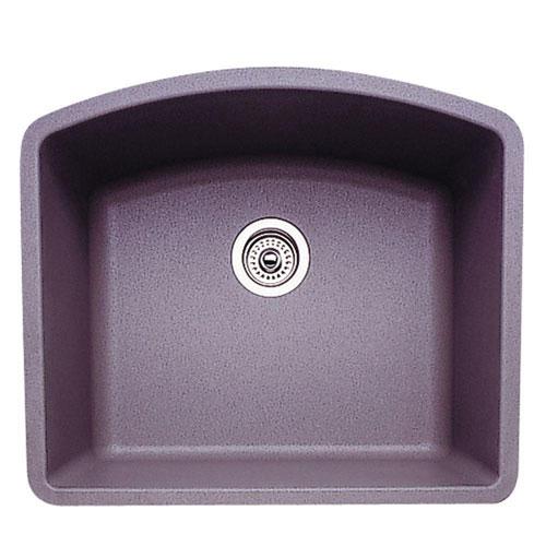 Blanco Diamond Single Bowl Granite 0-Hole in Metallic Gray 478862
