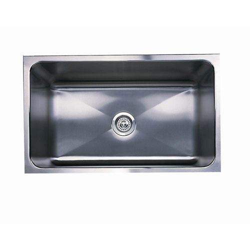 Blanco Magnum Undermount Stainless Steel 18 inch 0-Hole Single Bowl Kitchen Sink 519425
