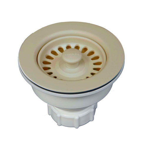 Blanco Decorative Basket Strainer in Biscotti 538004