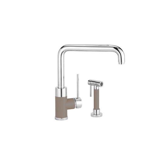 Blanco Purus I Kitchen Faucet w/ Side Spray in Truffle 538016