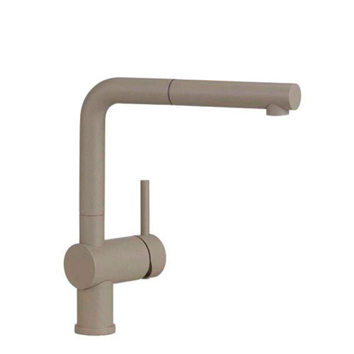 Blanco Linus Pull Out Kitchen Faucet in Truffle 538020