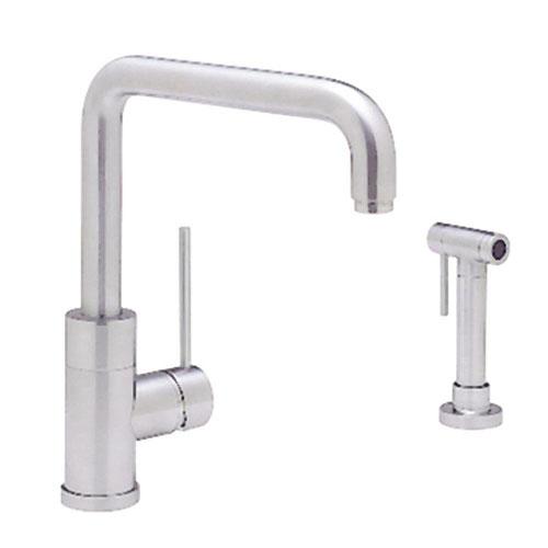 Blanco Purus I Single-Handle Side Sprayer Kitchen Faucet in Chrome 570061