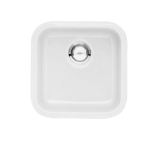 Blanco Cerana Bar Fireclay 18.8x18.8x7 Single Bowl in White 573768
