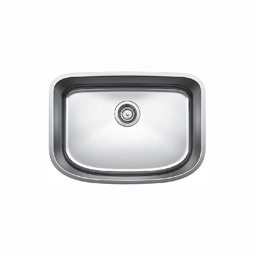 Blanco Undermount Stainless Steel 23x9x14 0-Hole Single Bowl Kitchen Sink in Stainless Steel 675751