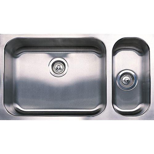 Blanco Spex Plus Undermount Stainless Steel 32 inch 0-Hole 1-1/2 Double-Bowl Kitchen Sink 715665