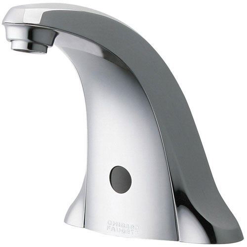 Chicago 116.706.AB.1 Faucets Electronic Metering Faucet with Infrared Sensor, Chrome 519456