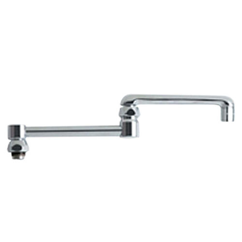 Chicago Faucets 13 inch Chrome Finish Double-Jointed Swing Spout 634123