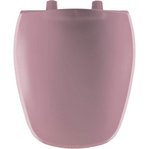 Bemis Round Closed Front Toilet Seat in Dusty Rose 310029