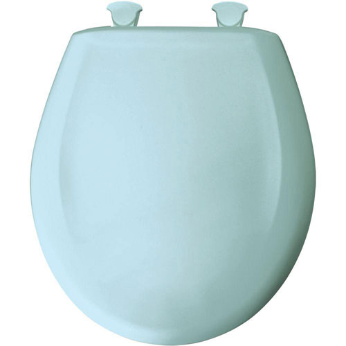Bemis Round Closed Front Toilet Seat in Dresden Blue 496457