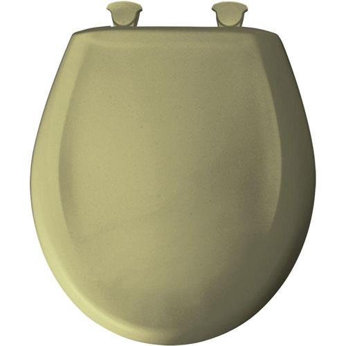 Bemis Round Closed Front Toilet Seat in Avocado 529695