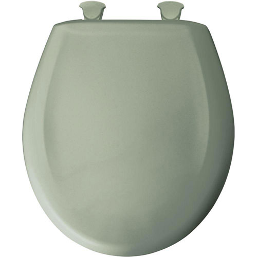 Bemis Round Closed Front Toilet Seat in Aspen Green 529723