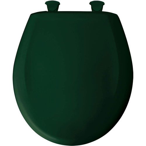 Bemis Round Closed Front Toilet Seat in Rain Forest 529734