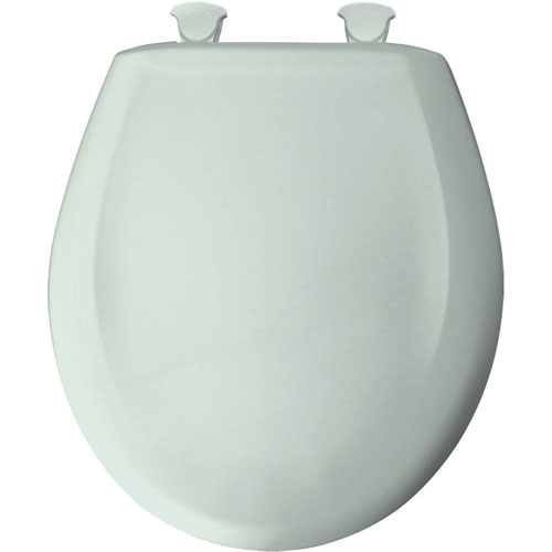 Bemis Round Closed Front Toilet Seat in Spring 529744