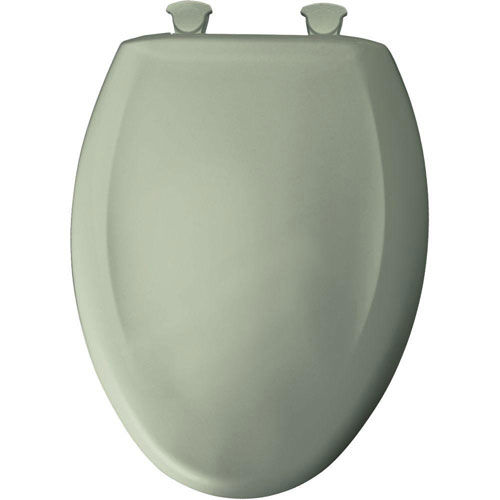 Bemis Slow Close STA-TITE Elongated Closed Front Toilet Seat in Bayberry 529778