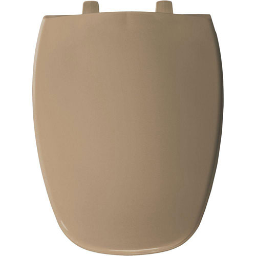 Bemis Elongated Closed Front Toilet Seat in Sand 529864