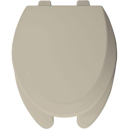 Bemis Elongated Open Front Toilet Seat in Bone 529870