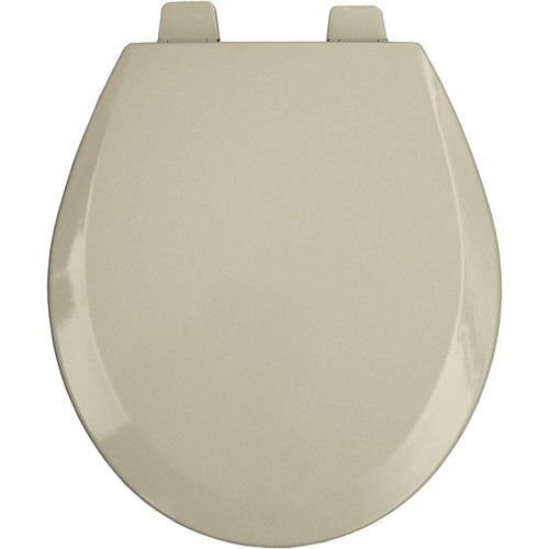 Bemis Round Open Front Toilet Seat in Bone 529882