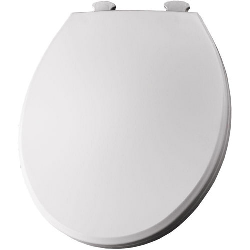 Bemis Lift-Off Round Closed Front Toilet Seat in White 566812