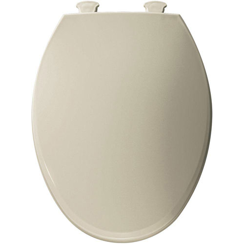 Bemis Lift-Off Elongated Closed Front Toilet Seat in Bone 566816