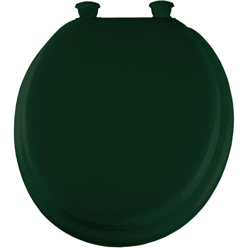 Mayfair Round Closed Front Toilet Seat in Rain Forest 628457