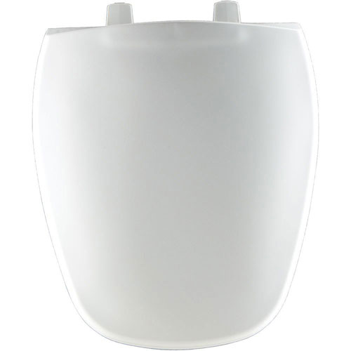 Bemis Round Closed Front Toilet Seat in White 69852