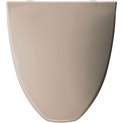 Bemis Elongated Closed Front Toilet Seat in Fawn Beige 819388