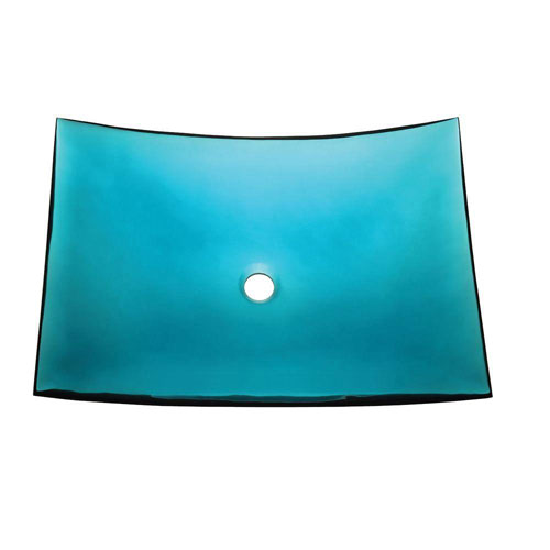 Decolav Incandescence Slumped Sheet Vessel Sink in Lagoon 542998