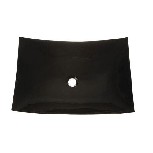 Decolav Incandescence Slumped Sheet Vessel Sink in Obsidian 543002
