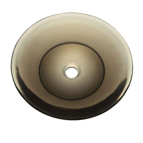 Decolav Incandescence Shallow Round Vessel Sink in Shadow 543040