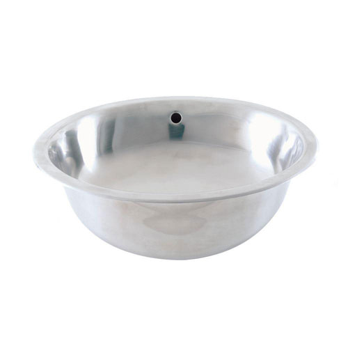 Decolav Simply Stainless Drop-in Bathroom Sink in Brushed Stainless Steel 627817