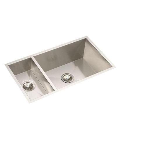 Elkay Gourmet Top Mount Granite 25 inch Single Bowl Kitchen Sink in Dusk Gray 241373