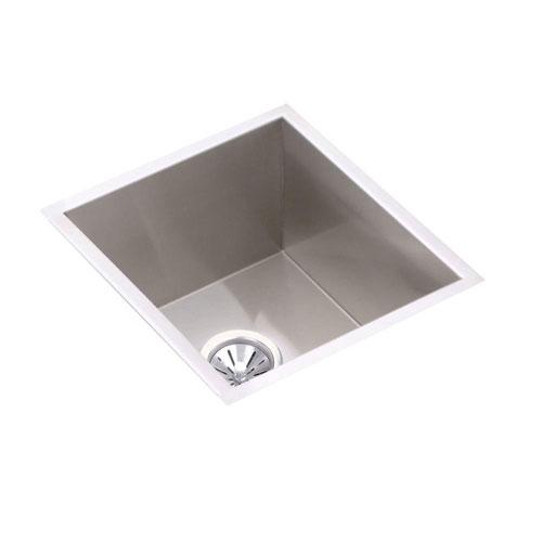 Elkay Avado Undermount Stainless Steel 18-1/2x16 0-Hole Single Bowl Kitchen Sink in Stainless Steel 241405