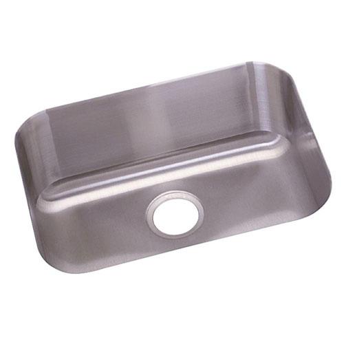 Elkay Dayton Undermount Stainless Steel 23x17.75x8 0-Hole Single Bowl Kitchen Sink in Radiant Satin 242565