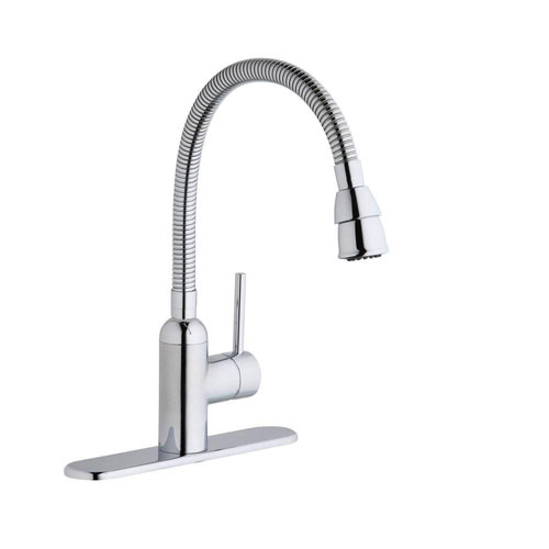 Elkay Pursuit Chrome Flexible-Spout Laundry Faucet 541138