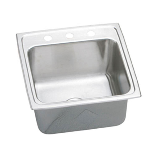 Elkay Crisfield Drop-In Acrylic 17 inch 2-Hole Single Bowl Entertainment Sink in Desert Bloom 541447