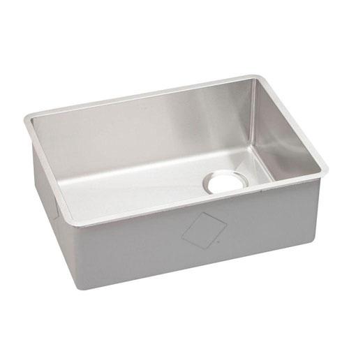 Elkay Crisfield Drop-In Acrylic 17 inch 2-Hole Single Bowl Prep Sink in Shell 642414