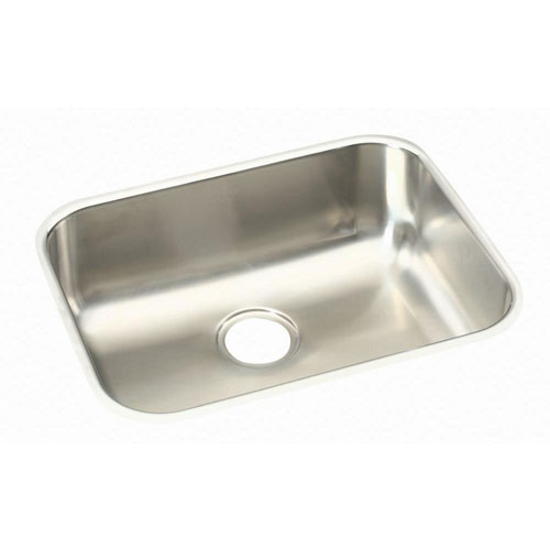 Elkay Elumina Undermount Stainless Steel 23-1/2x18-1/4x 8 inch 0-Hole Single Bowl Kitchen Sink in Satin 780929