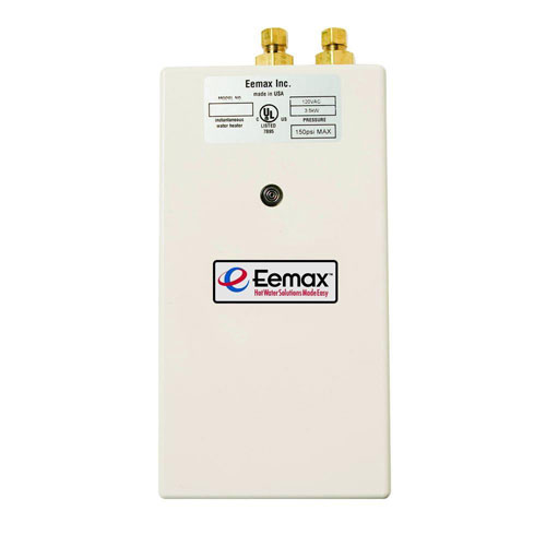 Eemax Single Point 2.4 kW 120 Volt 0.3gpm-2.0gpm Electric Tankless Water Heater 594679