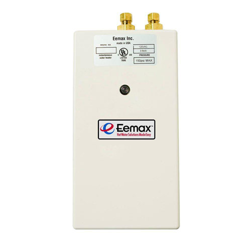 Eemax Single Point 3.5 kW 120 Volt 0.3gpm-2.0gpm Electric Tankless Water Heater 865090