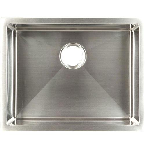Franke Undermount Stainless Steel 23x18x10 18-Gauge Single Bowl Kitchen Sink 578004