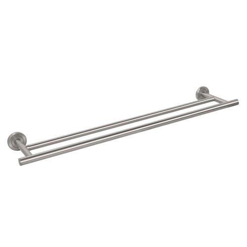 Gatco Latitude II 24 inch Towel Bar in Satin Nickel 379873